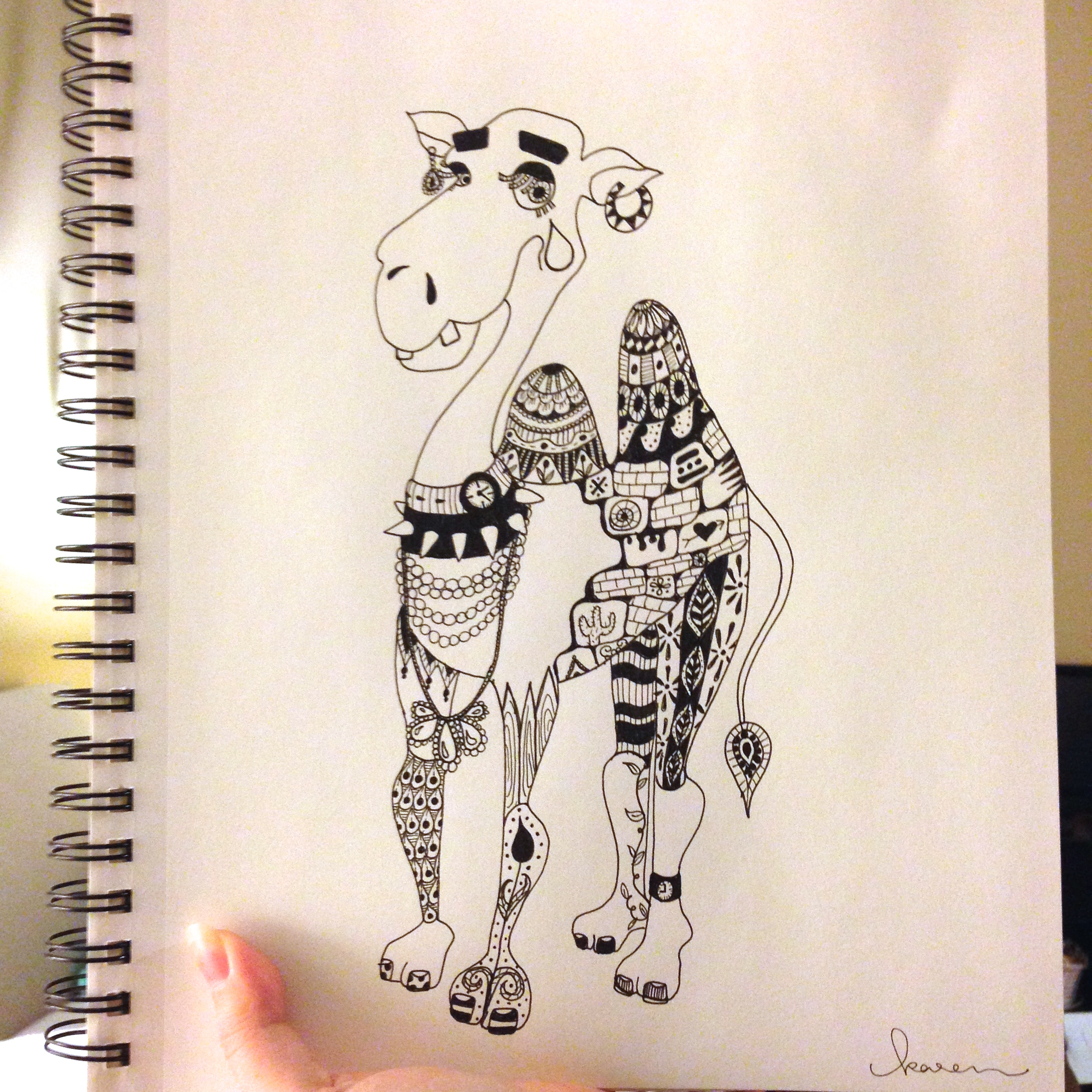 Camille the Capricious Camel