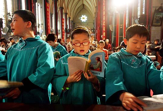 chinese catholics