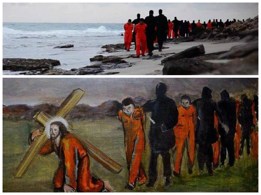 ISIL Jesus Beach