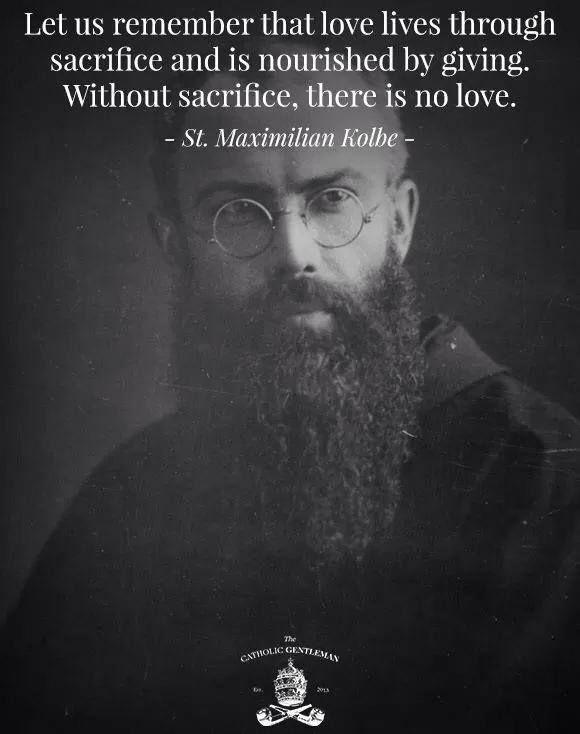 sacrifice and love