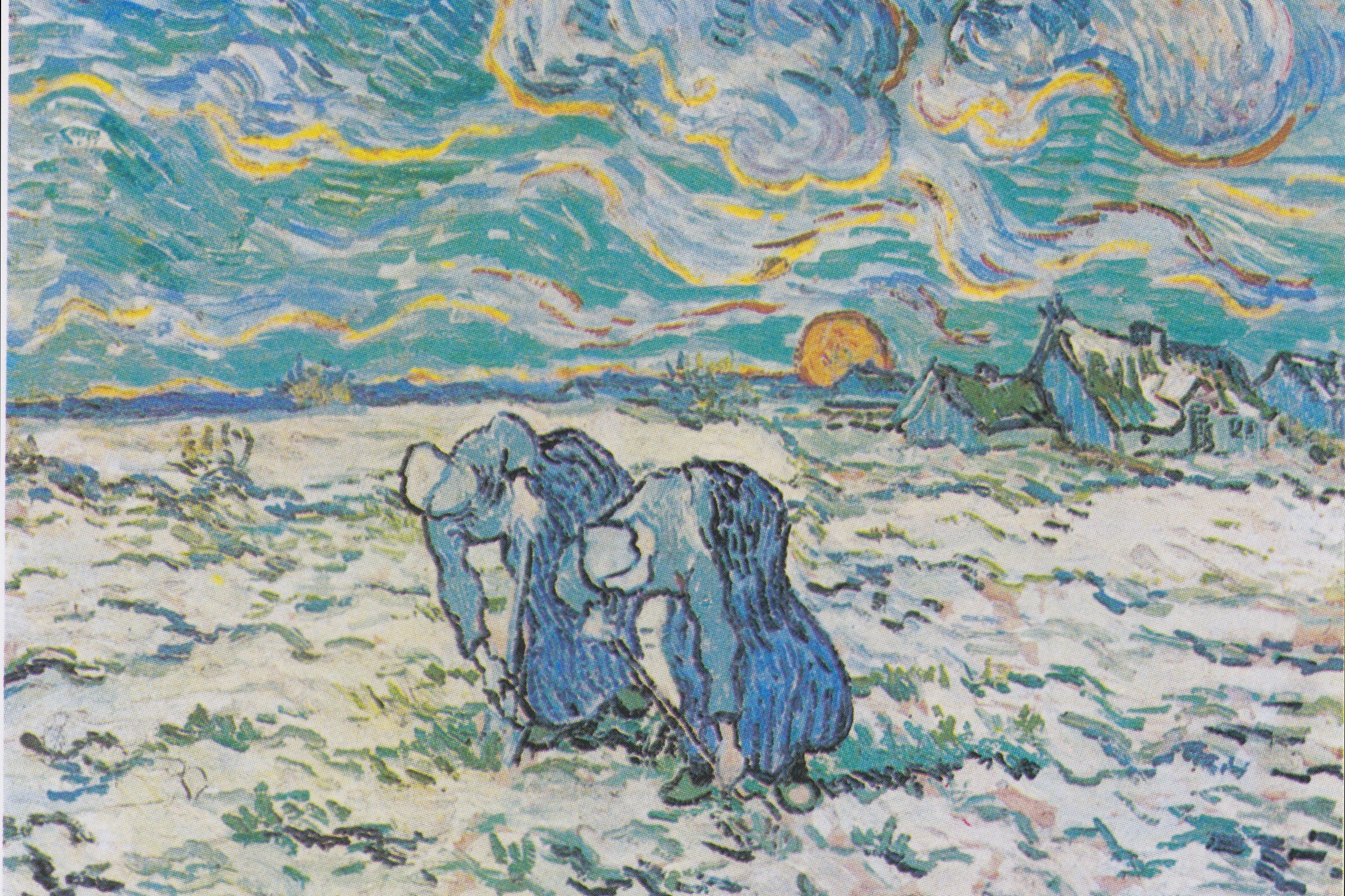 Van_Gogh_-_Zwei_grabende_Bäuerinnen_auf_schneebedecktem_Feld